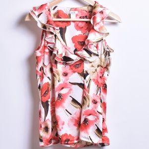 Cache Floral Blouse, Sz XS